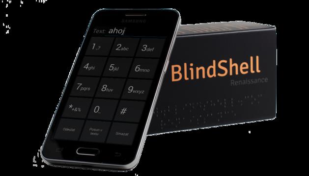 BlindShell, el primer teléfono con pantalla táctil diseñado para ciegos