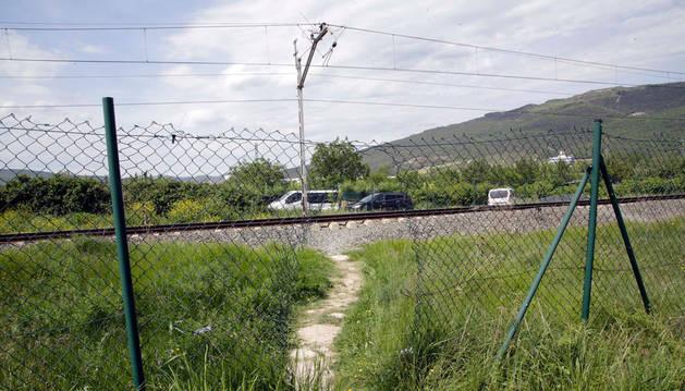Berriozar volverá a pedir la eliminación del bucle ferroviario tras el atropello