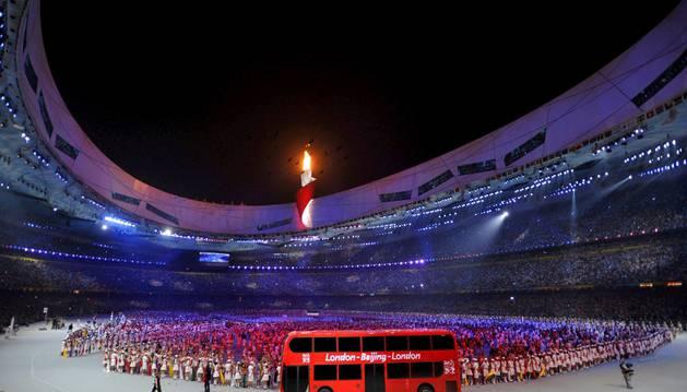 Inauguración de los Juegos Olímpicos de Pekín.