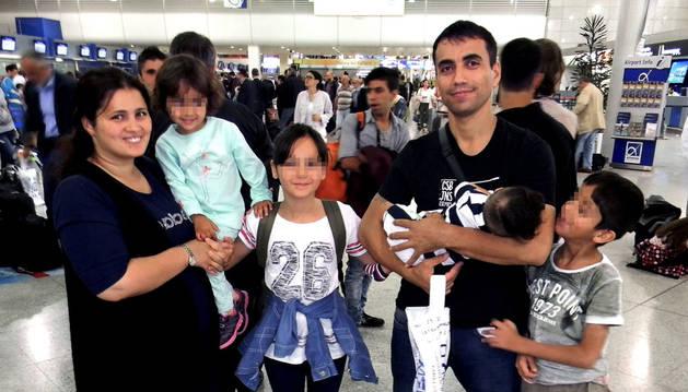 Veinte refugiados inician ya su nueva vida en España