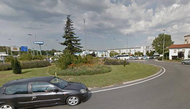La rotonda de Agustinos-Berriozar cerrará uno de sus carriles este miércoles