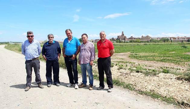 Regantes de Villafranca, Cadreita y Milagro denuncian robos de material