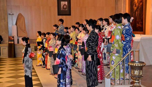 El coro Kikuka, procedente de Japón, participará este año en el Ciclo Coral Internacional de Navarra.