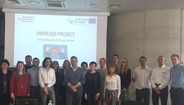 Reunión de lanzamiento del proyecto INKREASE.