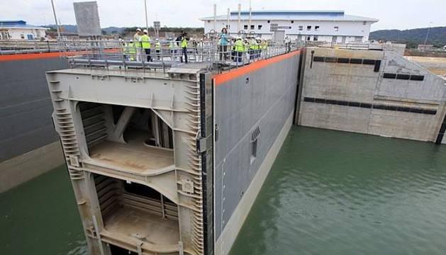 Sacyr concluye la ampliación del Canal de Panamá.