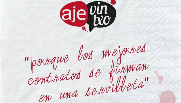 Logo y eslogan del AJEvintxo