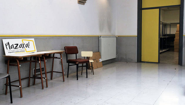 Parte del mobiliario de Joaquín Maya sigue en el interior.