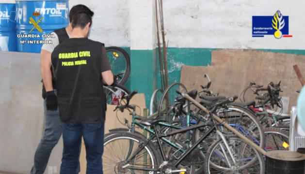 Doce detenidos, cinco en Pamplona, en una operación contra el robo de cobre