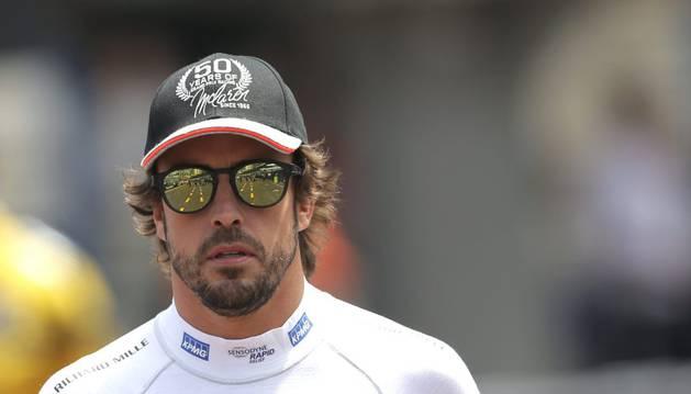 Fernando Alonso, en Mónaco.