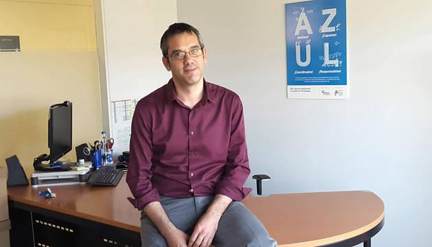 Jorge García, director TIC de Mutua Navarra