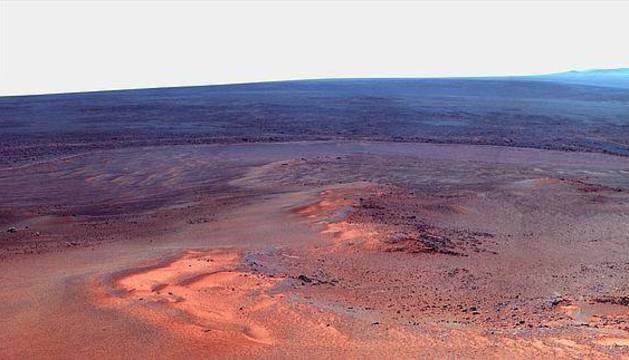 Superficie del planeta Marte.