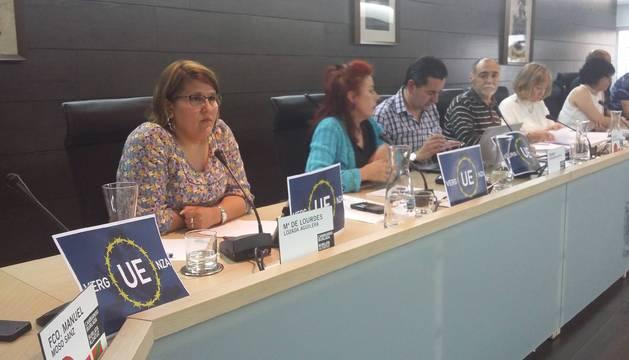El alcalde de Burlada decide que la bandera de la UE no ondeará esta legislatura