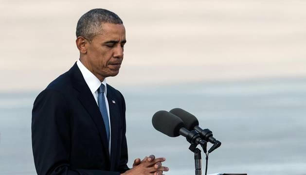 Obama llega a Hiroshima y se convierte en el primer presidente en hacerlo desde 1941