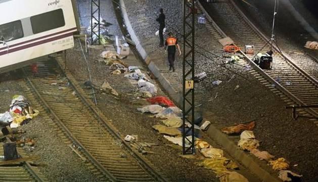 Imagen del accidente registrado en 2013.
