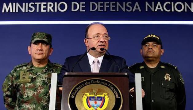 Luis Carlos Villegas, ministro de Defensa colombiano.