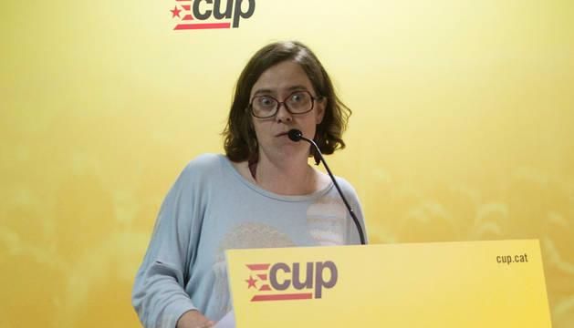 La diputada de la CUP en el Parlament Eulàlia Reguant.