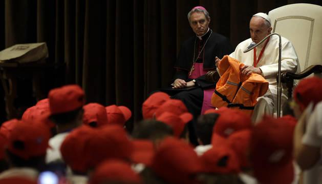 El Papa a los niños: