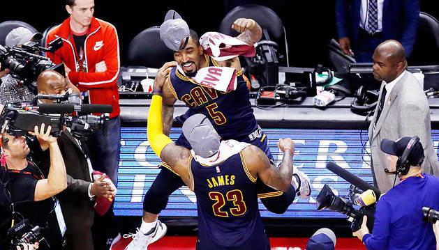 LeBron James vuelve a las Finales de la NBA con los Cavaliers