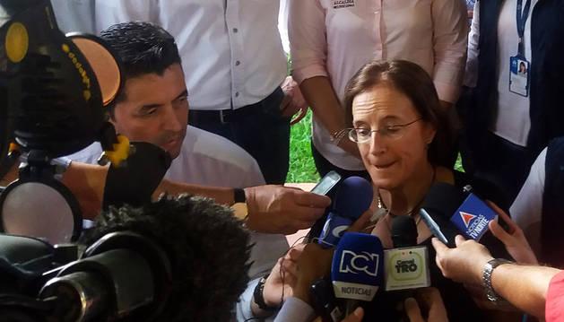 Liberada en Colombia la periodista española Salud Hernández-Mora
