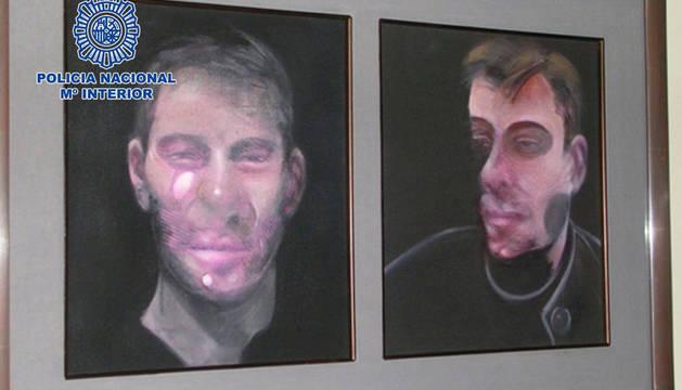 Detenidos los presuntos autores del robo de cinco cuadros de Francis Bacon