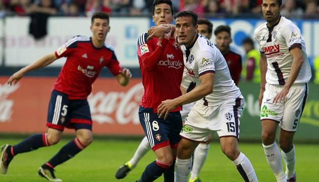 Imagen del Osasuna - Huesca.