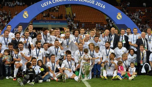 Final de la Copa de Europa 2016 disputada en Milán entre el Real Madrid y el Atlético de Madrid.