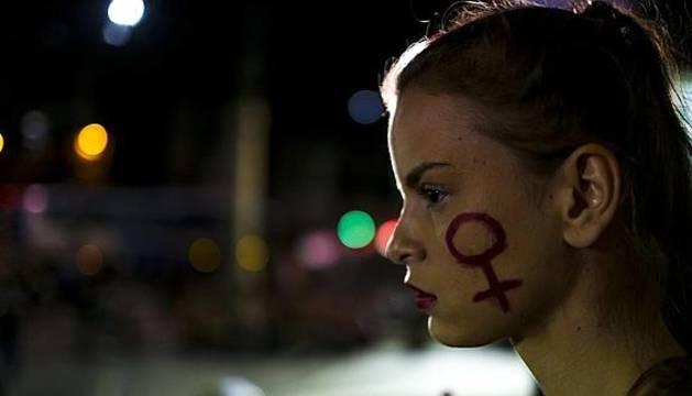 Manifestación en Río de Janeiro.
