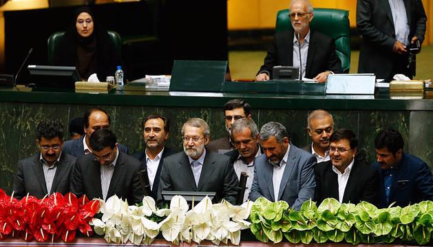 El Parlamento iraní reelige al conservador Alí Lariyaní como presidente