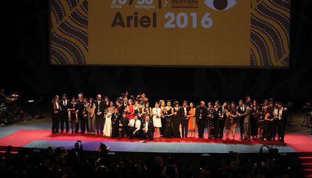 'Las elegidas' se impone en los Premios Ariel