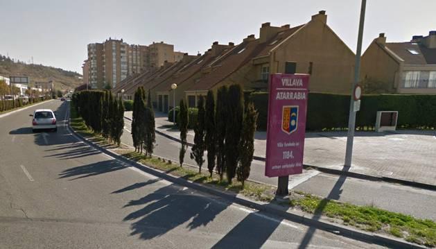 Entrada a Villava.