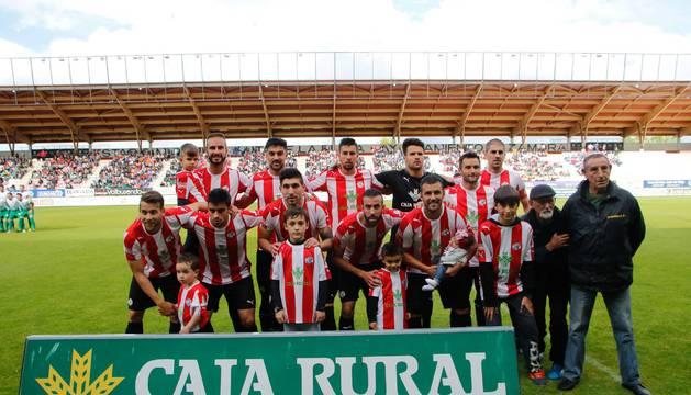 Once inicial del Zamora en su partido del pasado domingo ante el Atlético Mancha Real.