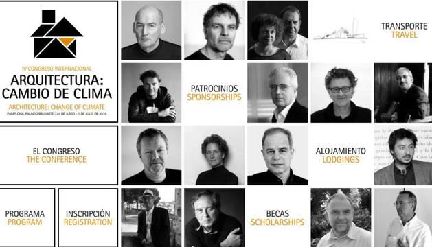 En el Congreso participarán figuras destacadas del panorama internacional como Rem Koolhaas y Pierre de Meuron (premios Pritzker).