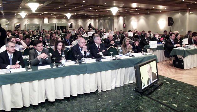 Una edición anterior de la asamblea general de la Comisión Arco Atlántico.
