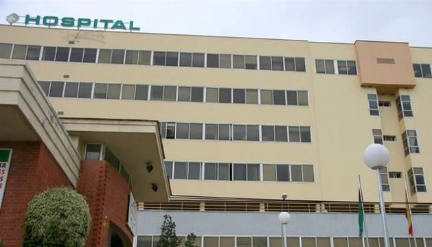 Hospital Virgen de la Victoria, en Málaga.