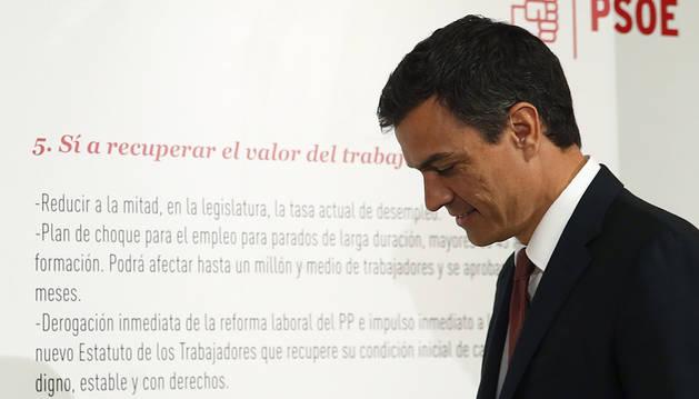 Sánchez se someterá a una cuestión de confianza si gobierna