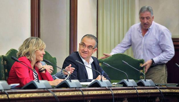 UPN no logra frenar la cesión de espacios públicos en Sanfermines