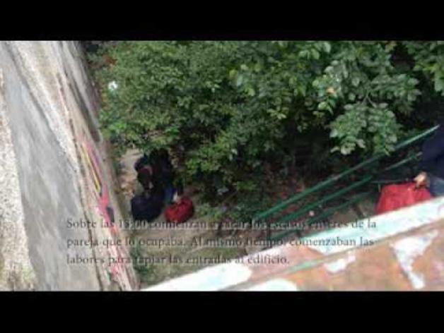 El Ayuntamiento desaloja un edificio municipal ocupado por una pareja