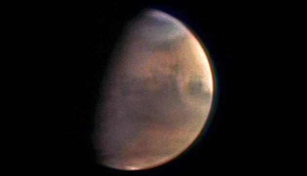 Fotografía de Marte de la Agencia Espacial Europea.