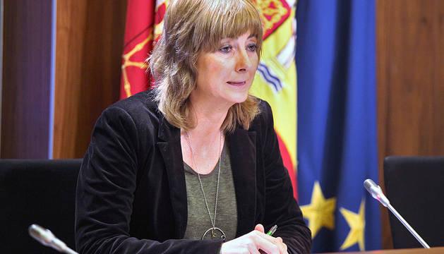 Ana Ollo, portavoz del Gobierno de Navarra.