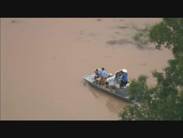 Texas vive sus peores inundaciones en 100 años
