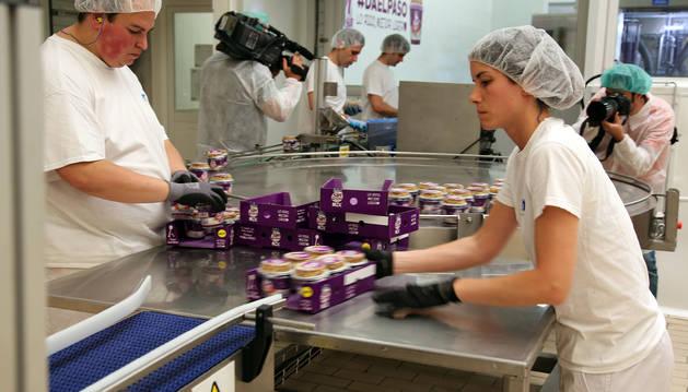 Kaiku invierte 1 millón en su planta de Pamplona para un nuevo yogur