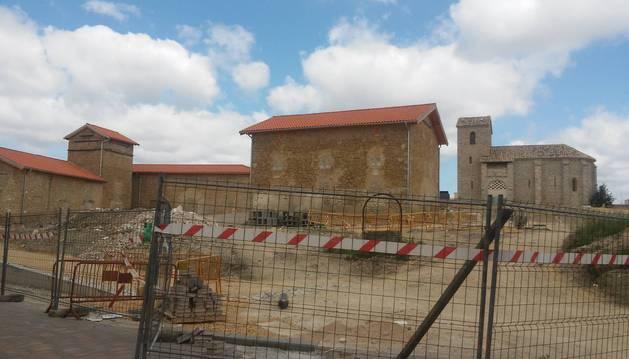 Paralizada la obra del Pueblo Viejo de Sarriguren por los problemas de Arian
