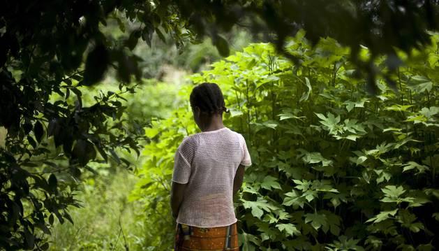 Una niña que denunció en 2012 abusos sexuales por parte de los cascos azules en Costa de Marfil.