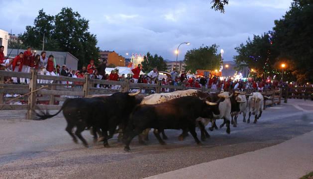 Encierrillo de San Fermín.
