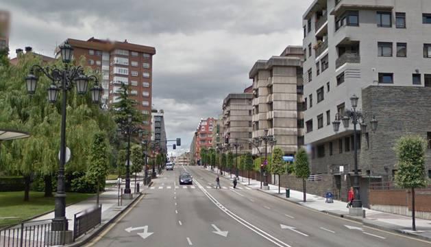 Calle Muñoz Degraín de Oviedo.