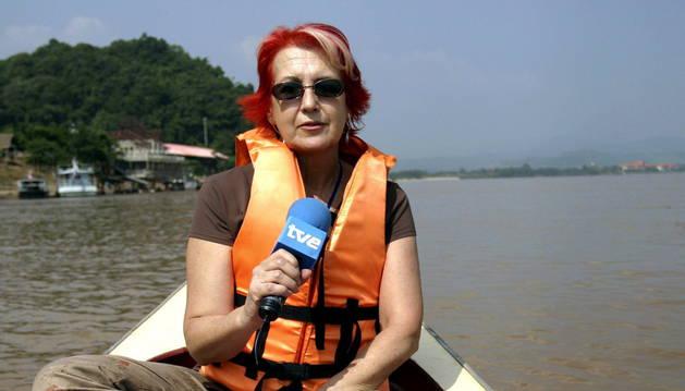 La periodista Rosa María Calaf.
