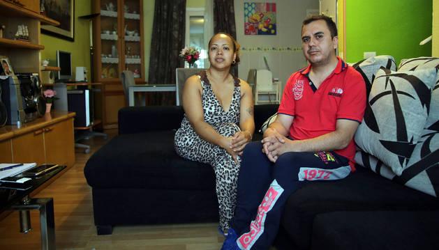 Ana Olave Jarme y Miguel Matute Benavides, padres de Miguel.