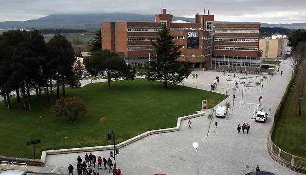 Vista general de la Facultad de Medicina de la UN.