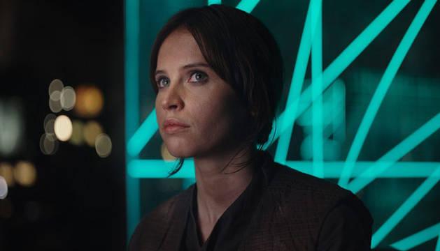 La actriz Felicity Jones.