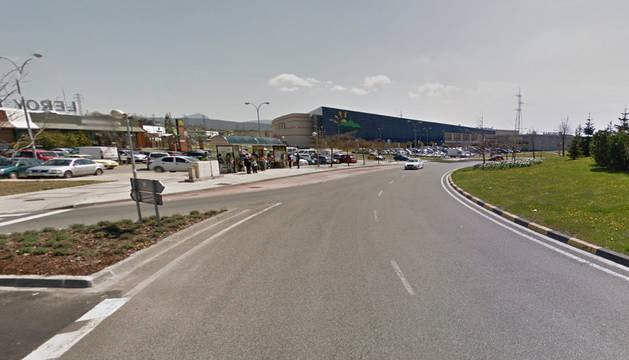 Centro Comercial La Morea, en Galar.